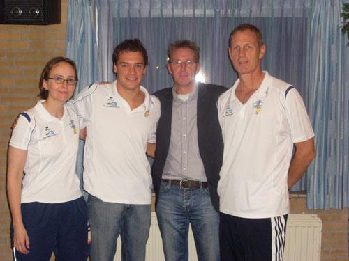 Junioren bondscoach op bezoek en het EON-Springplankprogramma