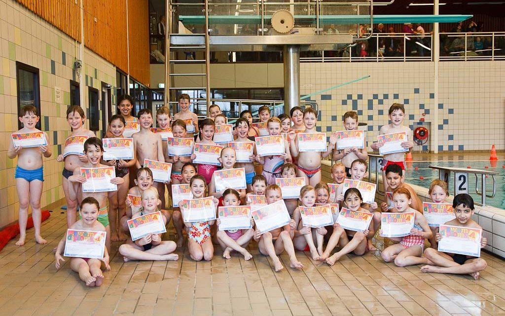 Examens zwem ABC maart 2010