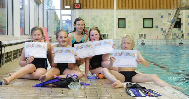 Examen Snorkelen 3 mei 2010