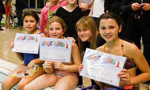 Examens snorkelen 1 en 2 februari 2011