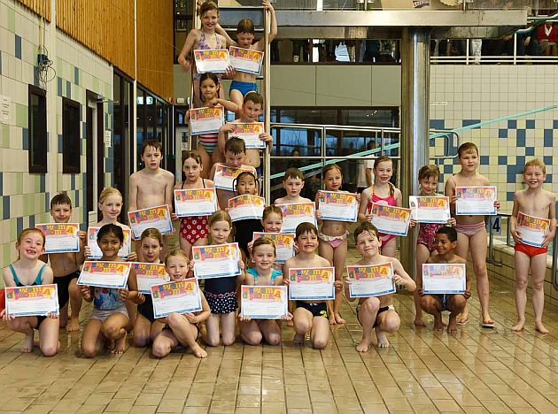 Examen Zwem ABC maart 2011