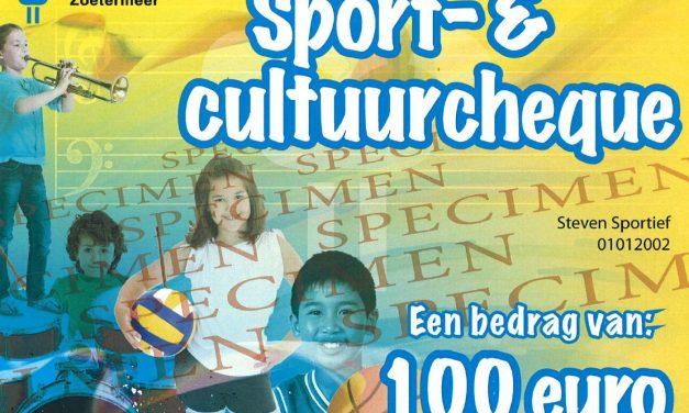 WVZ deelnemer Sport- en Cultuurcheque Zoetermeer