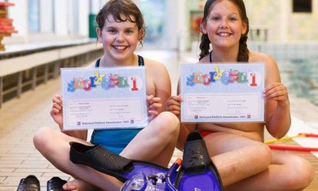 Examens Snorkelen 1 en 2 van mei 2011