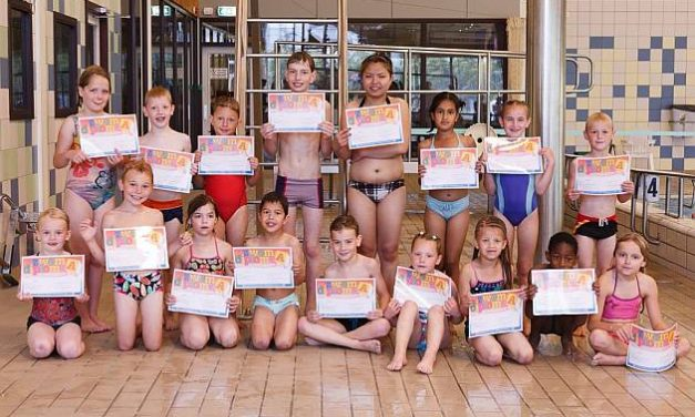 Examen zwem ABC 18 juni 2011