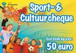 Let op: laatste maand inleveren Sport- en cultuurcheque 2013