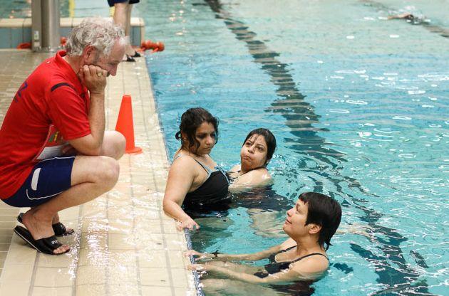Examen ZwemABC volwassenen Maart 2012