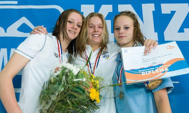 Goud voor Nicole Bennis bij NK sprint