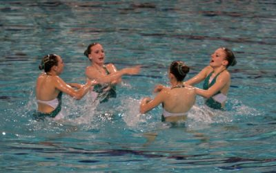 Nieuwe kennismakingscursussen synchroonzwemmen