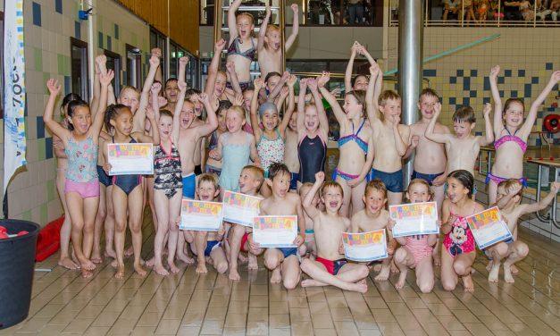 Examen zwem-ABC en snorkelen juli 2013