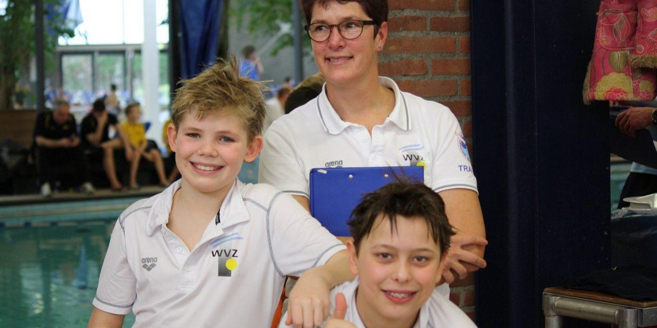 Thijs & Niels zwemmen naar verwachting op de Speedo Jaargang te Leiden