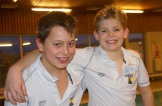 Duo Niels & Thijs naar de Speedo jaargang finale in Leiden