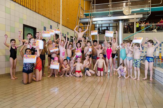 Examen zwem-ABC maart 2014