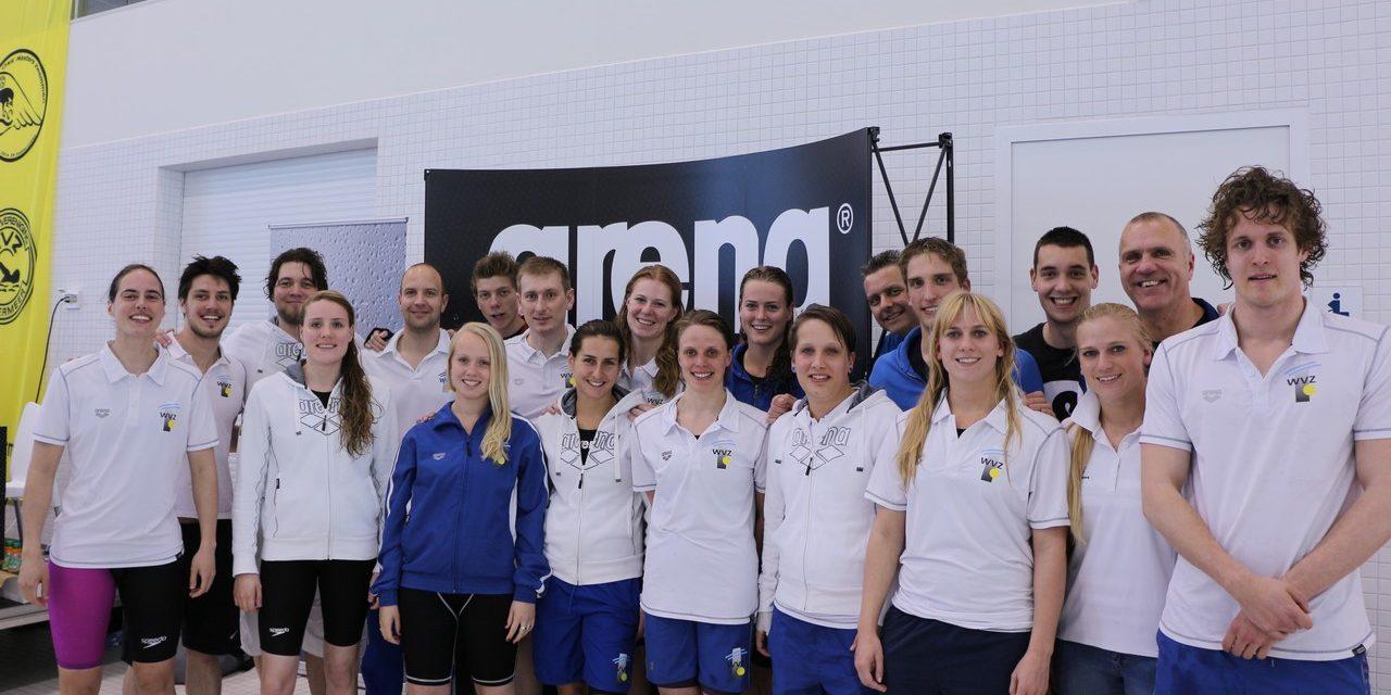Zeer succesvol NK Masters weekend voor WVZ in het Hofbad