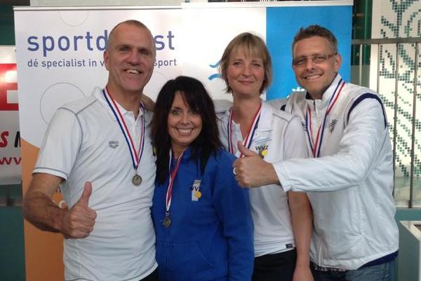 Weer medailles en 2 ned master records op 3e dag NMK