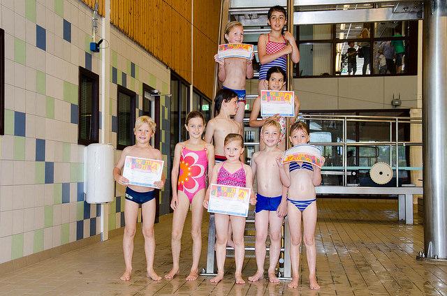Examen zwem-ABC van juni 2014