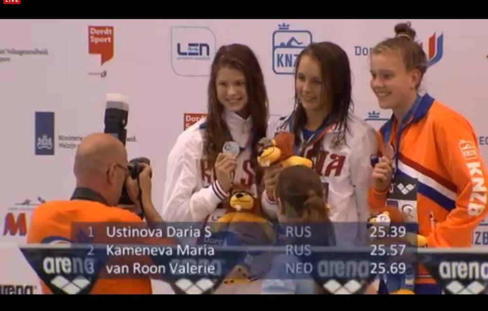 Na estafettesucces nu ook individueel brons voor Valerie!