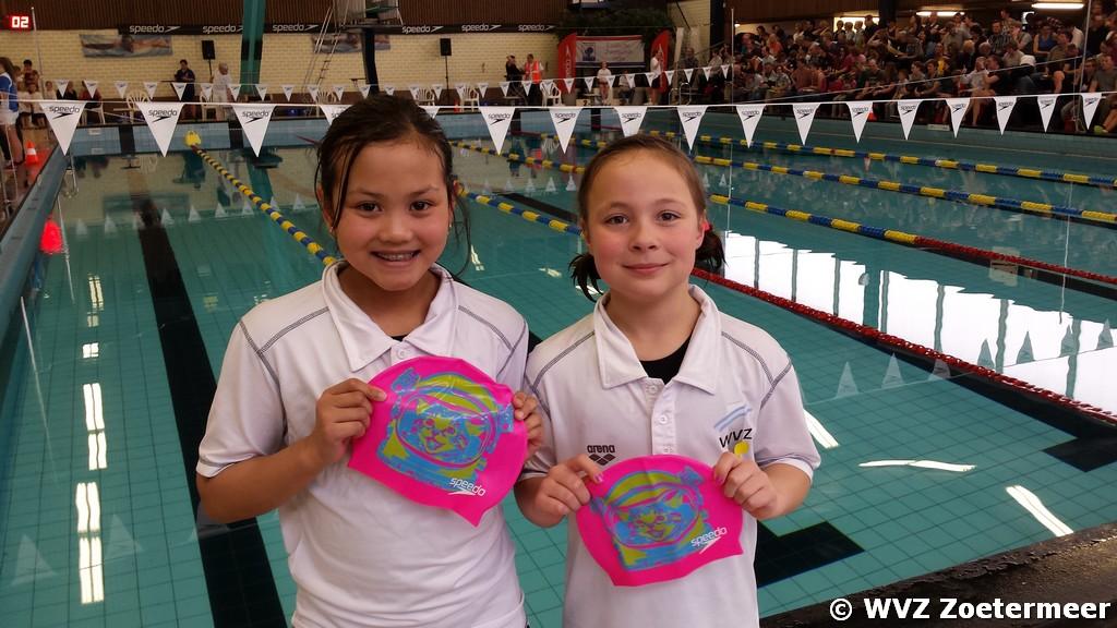 Nurlaylah en Emma bij de Jaargangfinales