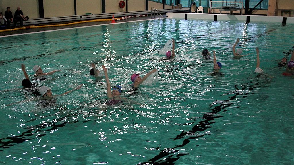 Kennismakingscursus synchroonzwemmen sept.2015