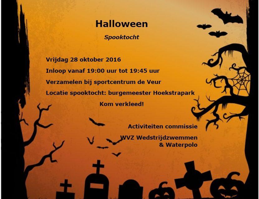 Uitnodiging Halloween spooktocht: kom je ook?