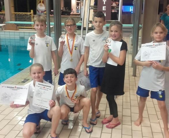 Jonge Schoonspringers WVZ behalen Medailles in Nieuwegein.