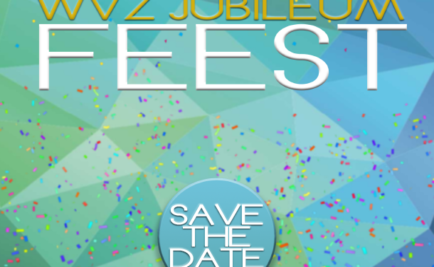 Save the date: 19 augustus WVZ jubileum!