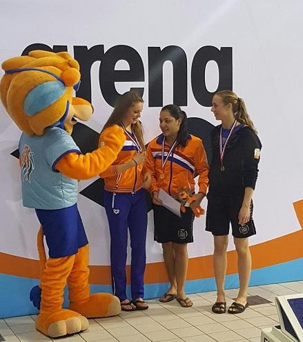 WVZ uitstekend op dreef tijdens Swim Cup Eindhoven