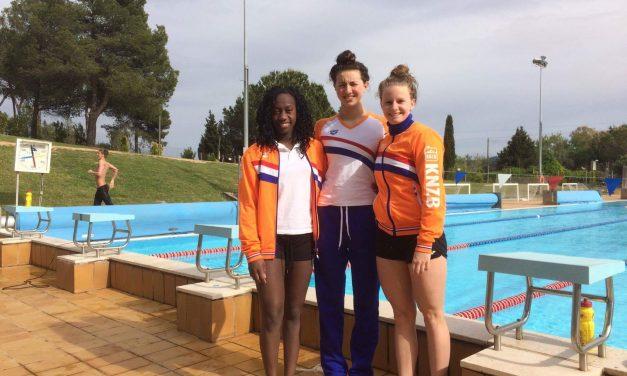 WVZ'ers op trainingskamp in Vittel, Barcelona en Alkmaar