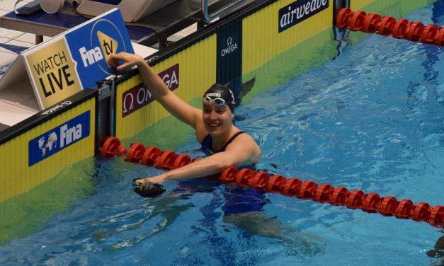 Valerie van Roon sprint naar EK-limiet op de 50 vrij