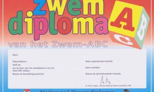 100 euro vergoeding bij zwemlessen diploma A