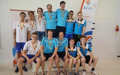 WVZ winnaar medaillespiegel 1e weekend Regiokampioenschappen