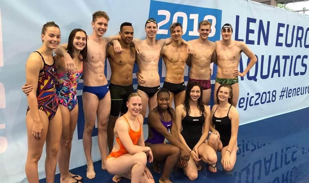 Chefanja Nunes en Rosey Metz: deelnemers EJK zwemmen in Helsinki