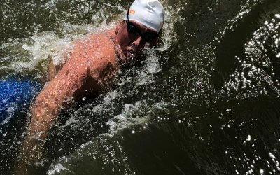 Linda Hoogendam verovert 4e plaats op NK Marathon Zwemmen