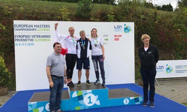 Delia Badoux pakt 3 bronzen EMK medailles in Slovenië