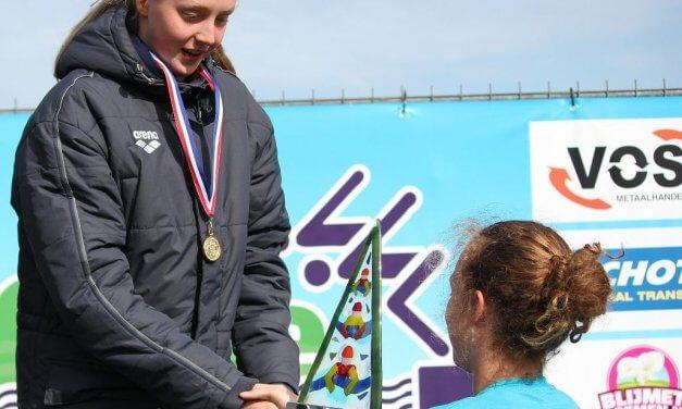 Marlinde Beukers winnares open water schoolslagklassement dames senioren 2018