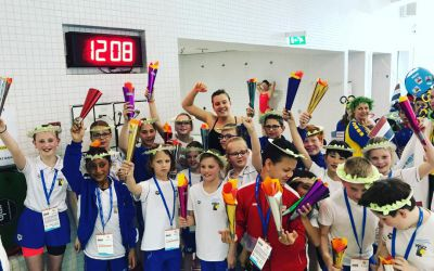 WVZ wordt 8e bij finale Nationale Arena Club Meet