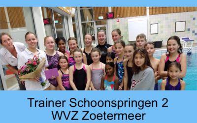 Annemarijn Bal behaalt Trainers Diploma Schoonspringen